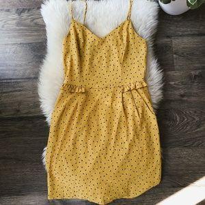 Lush - Mustard Floral Dress sz M